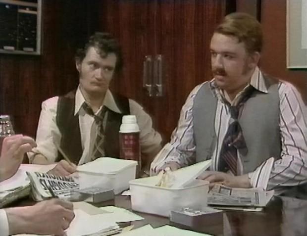 Jim Broadbent and Mel Smith