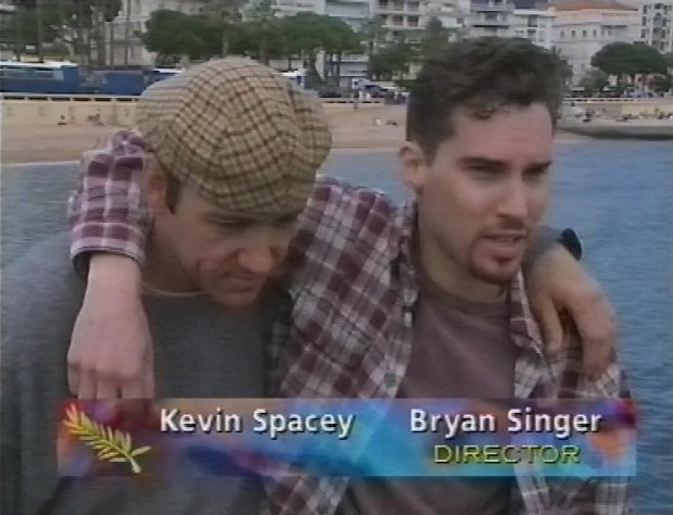 Kevin Spacey and Bryan Singer