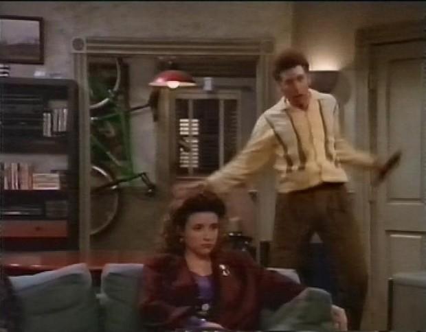 Kramer having seizures