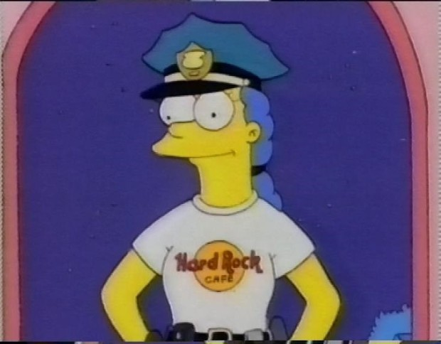 Marge the Police Officer
