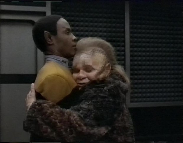 Neelix and Tuvok