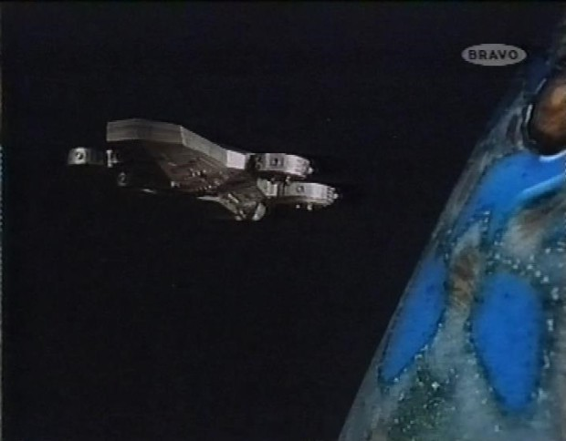Space 1999 Dione's ship