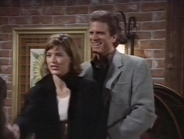 Tea Leoni and Ted Danson