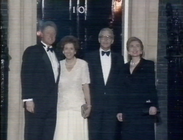 The Clintons and The Majors