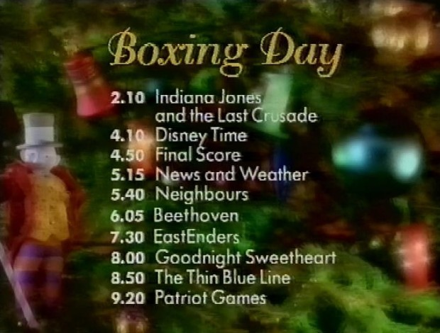 Boxing Day on BBC1