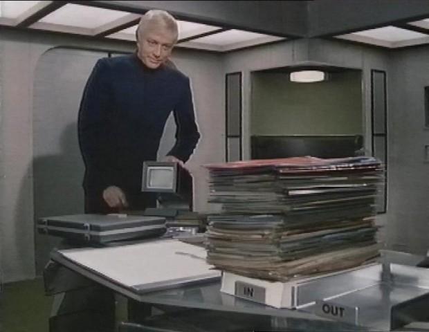 Ed Straker's Desk