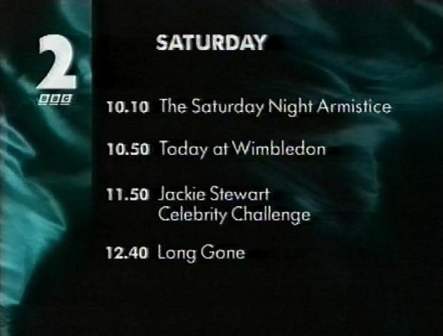 Saturday Revised Schedule