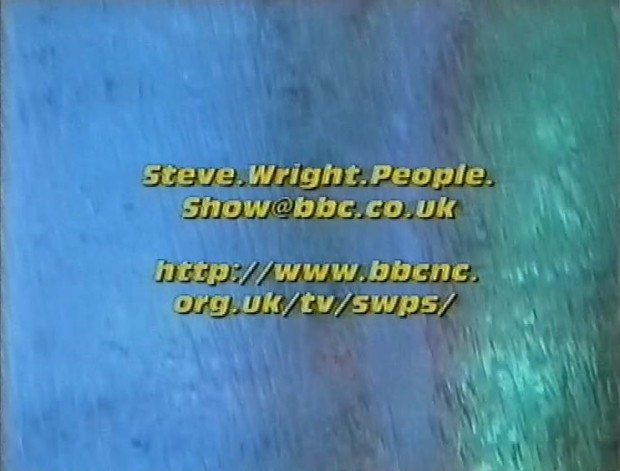 Steve Wright on the Internet