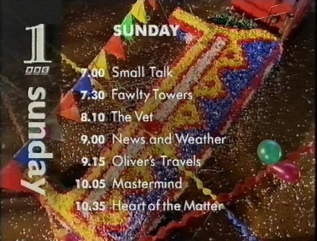 Sunday 2nd July 1995 on BBC1