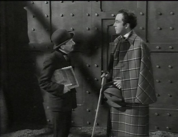 Arthur Lowe and Dennis Price